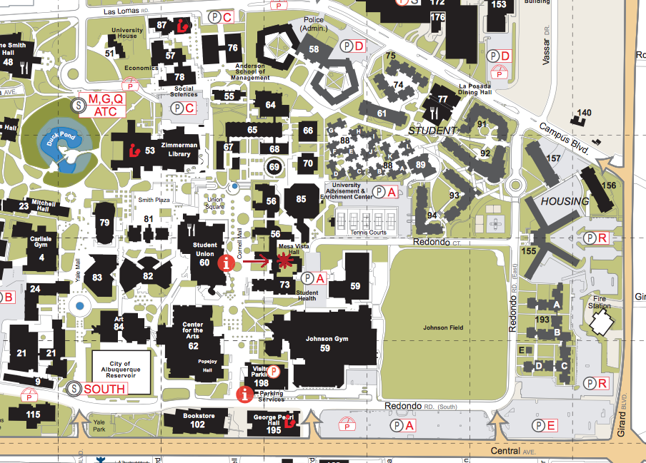 Contact Information & Location :: | The University of New Mexico